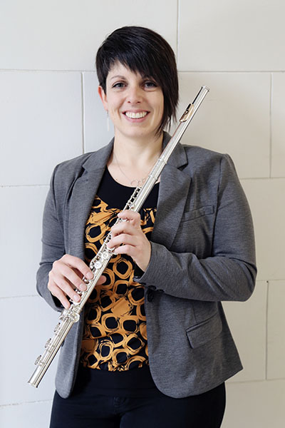 Sara Schuhardt, flute